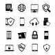 Data Protection Icons - GraphicRiver Item for Sale