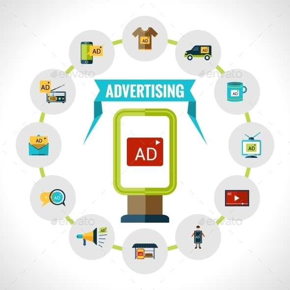 GraphicRiver Advertising Billboard Concept 10088516