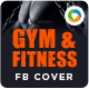 Fitness Design Facebook Cover - GraphicRiver Item for Sale