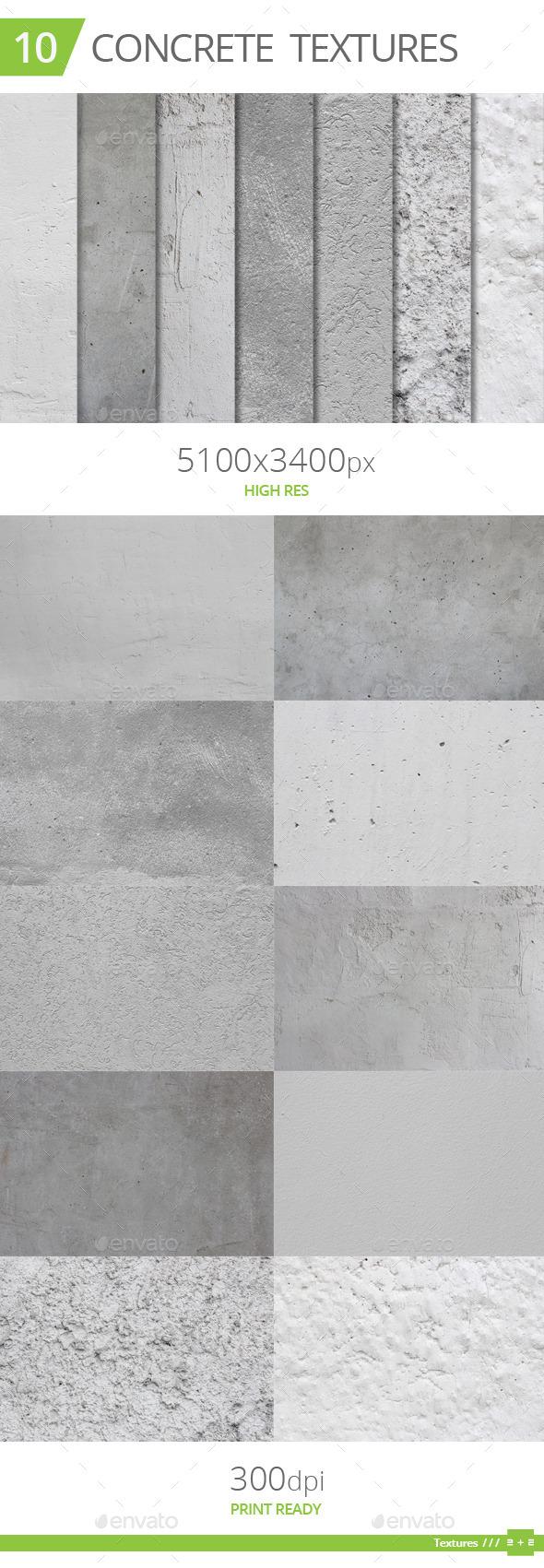 10 Concrete Textures