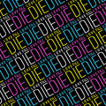 Love Till Die Typographic Quote Pattern - PhotoDune Item for Sale