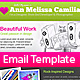 Creative Portfolio HTML Email Template - ThemeForest Item for Sale