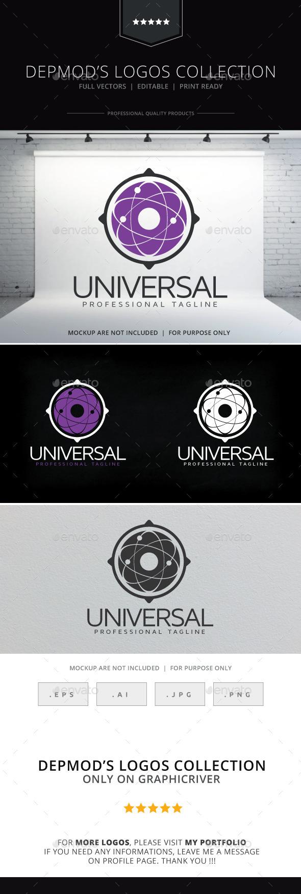 GraphicRiver Universal Logo 10088881