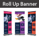 Computer and Mobile Repairing Rollup Banner - GraphicRiver Item for Sale