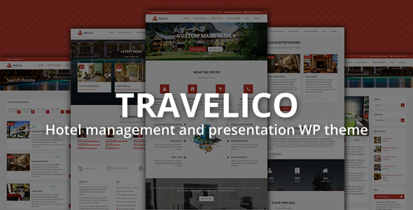 ThemeForest Travelico Hotel Booking & Presentation WP Theme 10089198