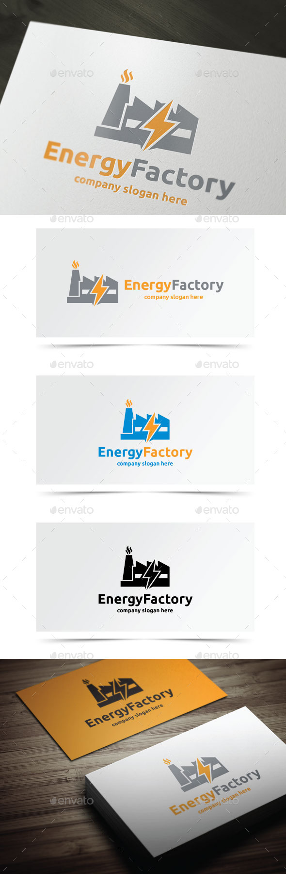 GraphicRiver Energy Factory 10089311