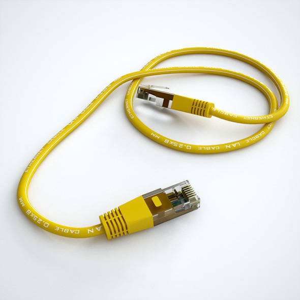 3DOcean Ethernet Cable 10089359