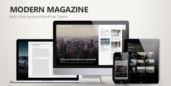 ThemeForest Modern Magazine Metro Multi-Purpose Theme 9487314