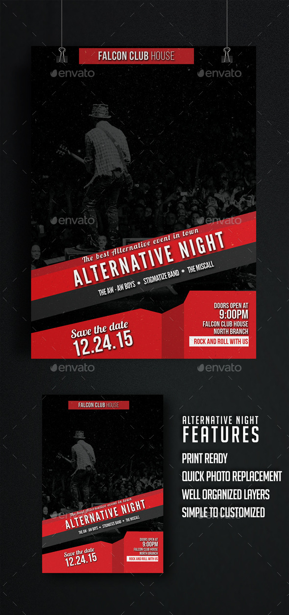 GraphicRiver Alternative Night 10089862