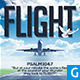 Flight Church Flyer - GraphicRiver Item for Sale