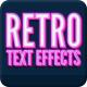 Vintage Retro Text Effects Vol. 2 - GraphicRiver Item for Sale