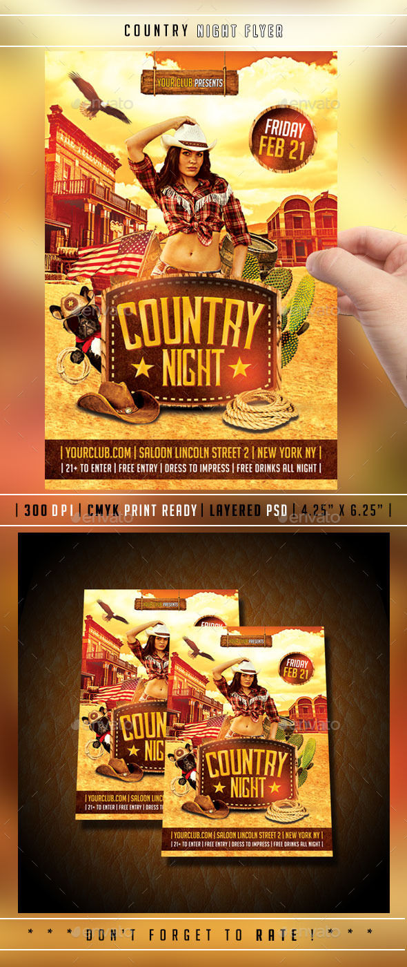 GraphicRiver Country Flyer 10090720