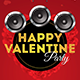 Valentine Rollup Banner - GraphicRiver Item for Sale