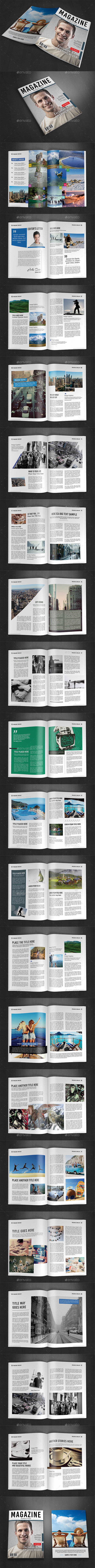 A4 Magazine Template Vol.10
