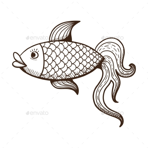 GraphicRiver Fish 10090947