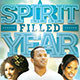 A Spirit Filled Year: Church Flyer Template - GraphicRiver Item for Sale