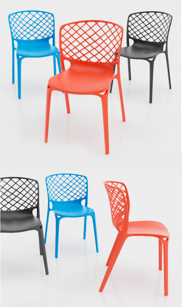 3DOcean Gamera Chair Calligaris 10091164
