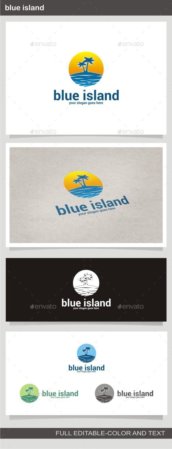 GraphicRiver Blue Island 10091214