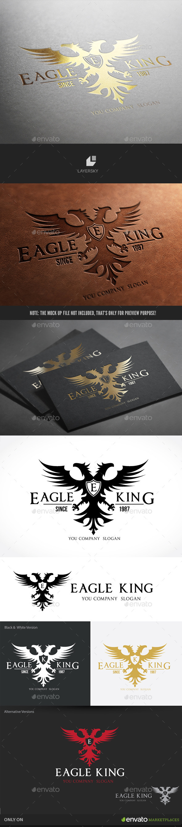 GraphicRiver Eagle King 10091520