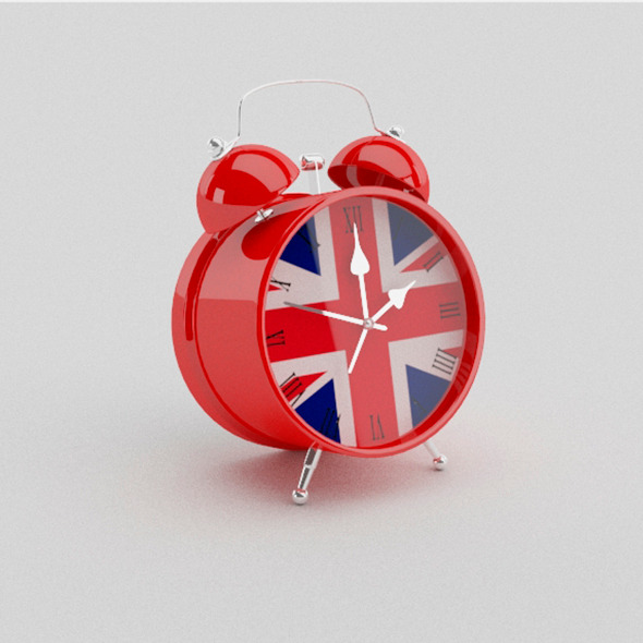 British Clock - 3DOcean Item for Sale