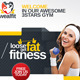 WealFit | Fitness - Gym Web Banner - GraphicRiver Item for Sale