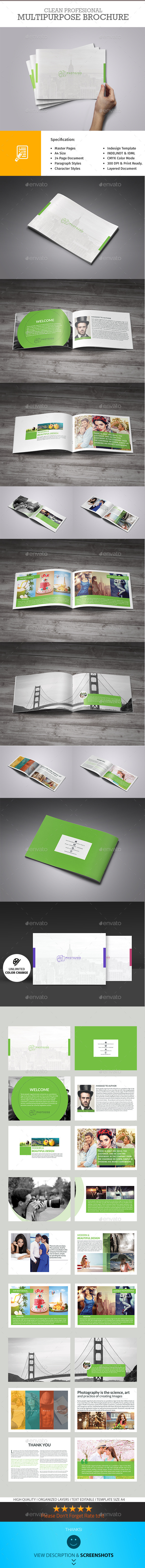 GraphicRiver Multipurpose Portfolio Brochure 10092332
