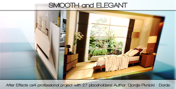 After Effects Project - VideoHive SMOOTH and ELEGANT 127538