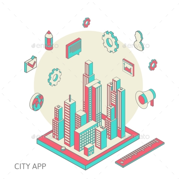 GraphicRiver City App 10093151