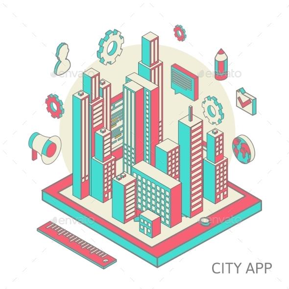 GraphicRiver City App 10093169