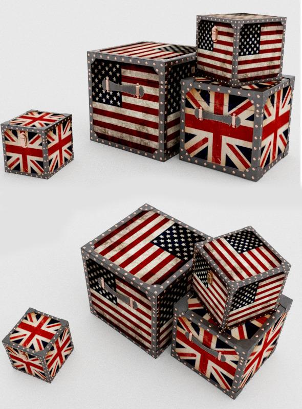 Decorative british box