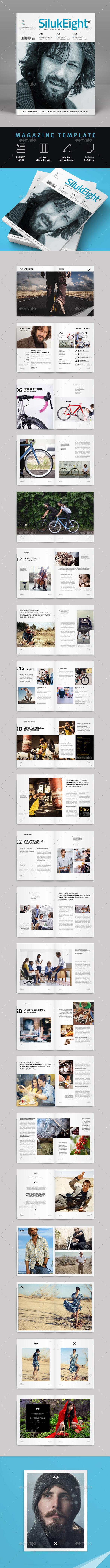 GraphicRiver Magazine Template 10068037