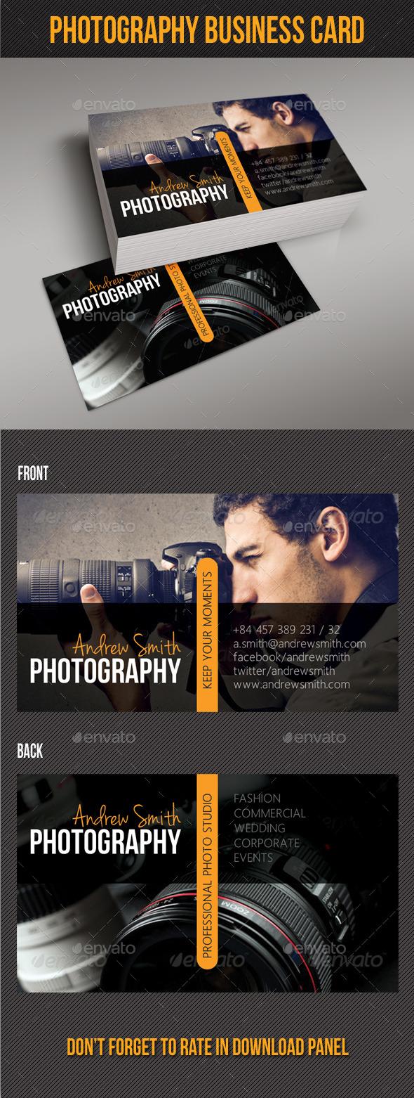 GraphicRiver Photography Studio Business Card V03 10093261