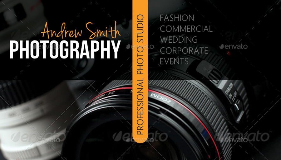 Photography Studio Business Card V03 By Rapidgraf