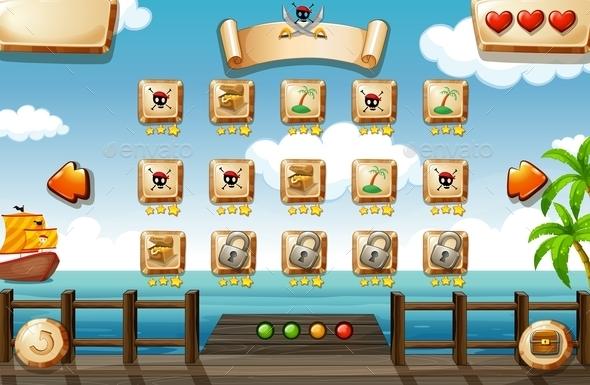 GraphicRiver Pirate Game 10093333