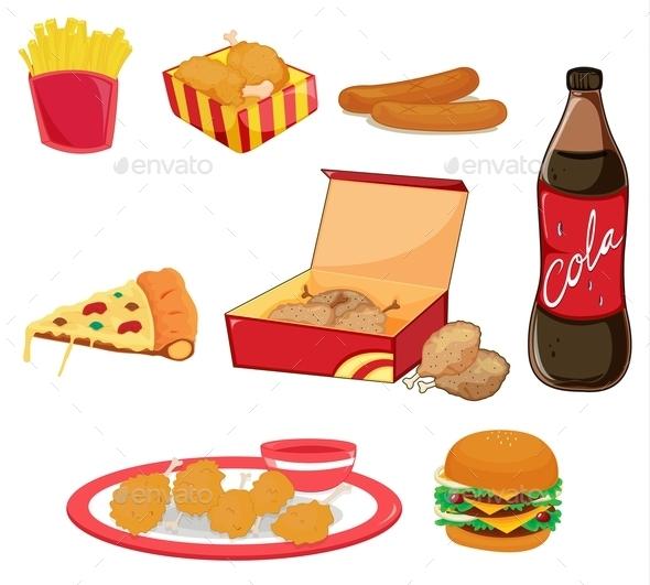 GraphicRiver Junk Food 10093336