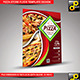 Pizza Store Flyer Template Design - GraphicRiver Item for Sale