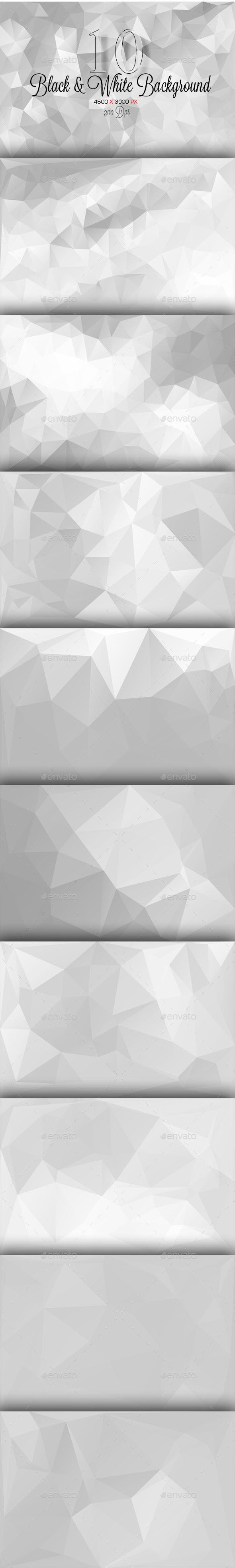 GraphicRiver 10 Backgorund Polygon Part 6 10093542