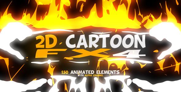 VideoHive 2D Cartoon FX 4 10093762