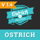 Ostrich - A Classic Minimal WordPress Blog Theme
