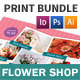 Flower Shop Print Bundle - GraphicRiver Item for Sale