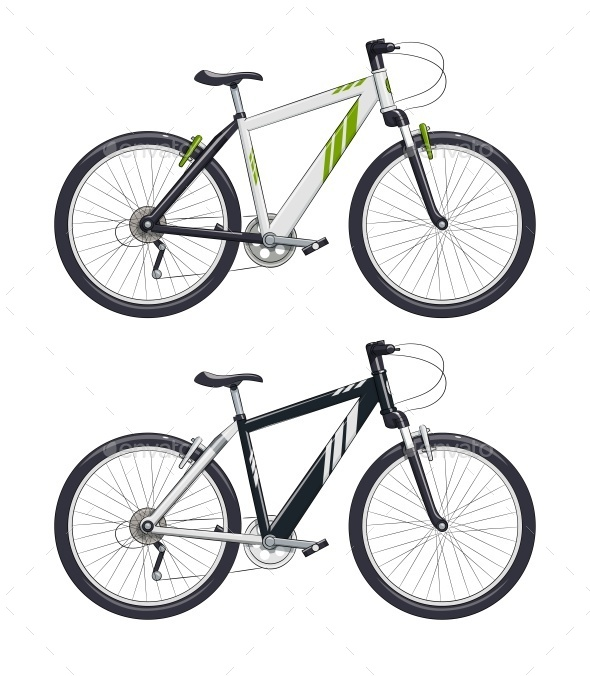 GraphicRiver Mountain Bike or Sport Bicycle 10094026
