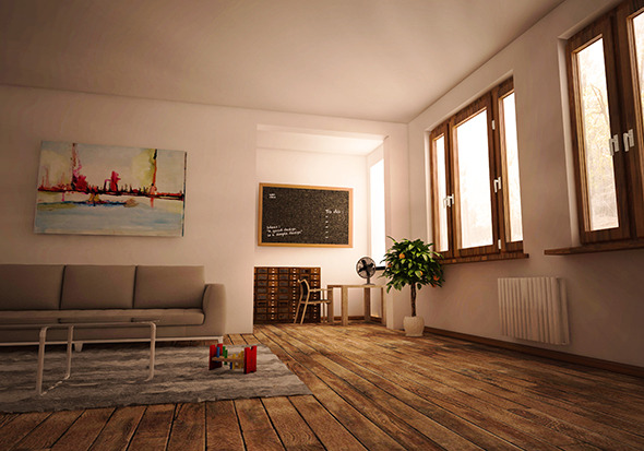 3DOcean COMPLETE C4D scene & Vray render setup & PSD 10094114