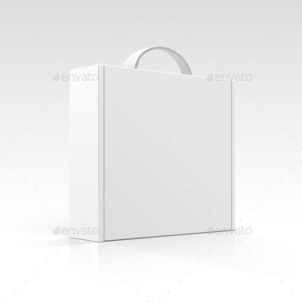 GraphicRiver Blank Box with Handle 10094456