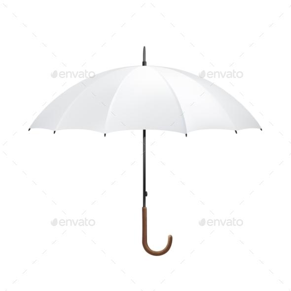 Blank Umbrella