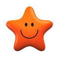 Red smiling star isolater on white background - PhotoDune Item for Sale