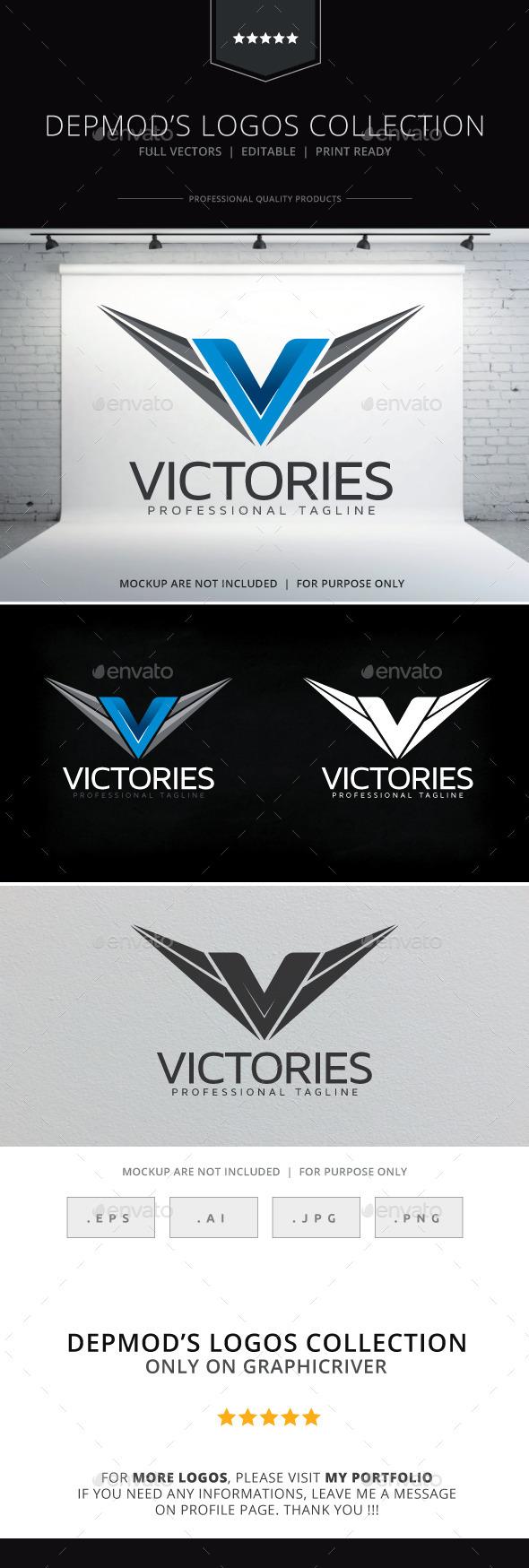GraphicRiver Victories Logo 10094799