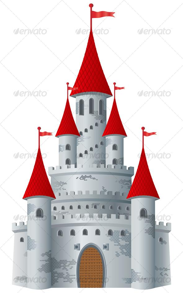 GraphicRiver Fairy-tale castle 127597
