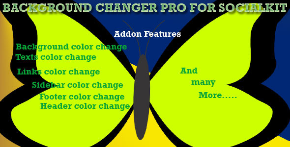 CodeCanyon Background Changer Pro for Socialkit 10095047