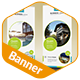 Clean & Creative Multipurpose Roll-Up Banner - GraphicRiver Item for Sale