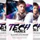 Tech Trance Flyer - GraphicRiver Item for Sale